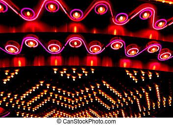 luces de neón