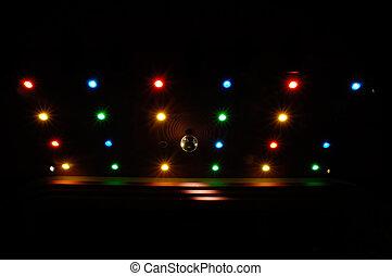 luces, disco