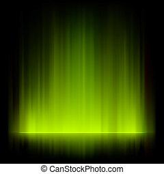 luces, fuego, resumen, eps, fondo., vector, 8
