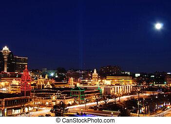 luces, plaza