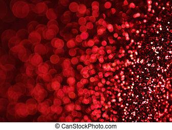 luces rojas, plano de fondo