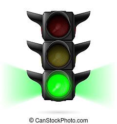 luces, tráfico