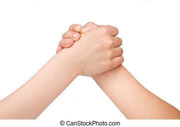 lucha, brazo