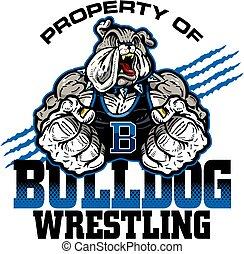 lucha, bulldog