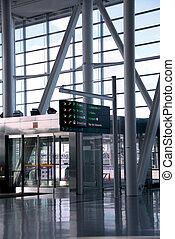 luchthaven, interieur