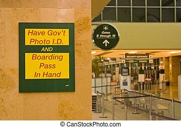 luchthaven zekerheid