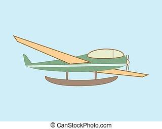 luchtvaart, hydroplane, seaplane, vervoeren