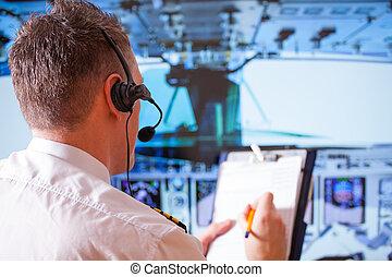luchtvaartmaatschappij piloot