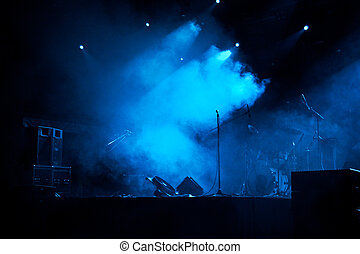 luci, 5, palcoscenico