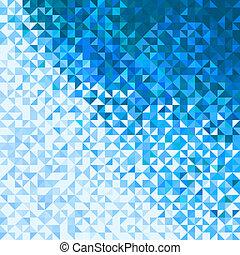 luci blu, astratto, fondo