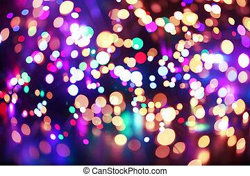 luci, colorito, fondo