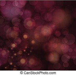 luci, defocused, fondo, festivo