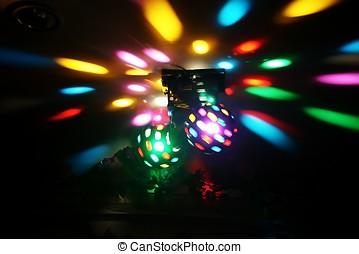 luci, discoteca