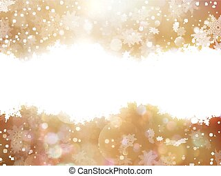 luci, e, stelle, natale, fondo., eps, 10