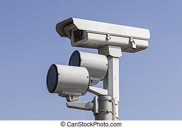 luci, macchina fotografica, traffico