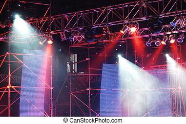 luci palcoscenico