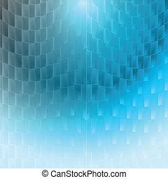 luci, su, sfondo blu