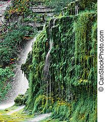 Lucifer Falls - The top tier of Lucifer Falls near Ithaca,...
