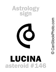 lucina, astrology:, asteroide