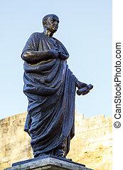 lucius, annaeus, seneca, bekend, als, seneca, de, jonger,...