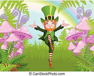 Lucky Dancing Leprechaun