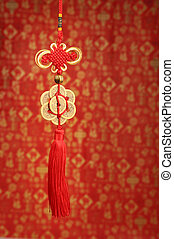 Lucky knot for Chinese new year