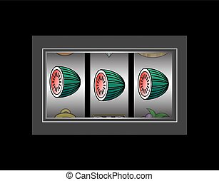 Lucky Melon Slot Reels