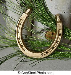 Lucky Metal Golden Horseshoe