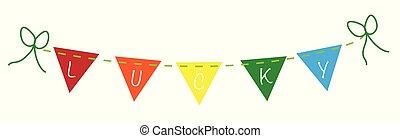 Lucky Saint Patricks Banner