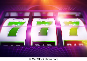 Lucky Slot Spin Illustration