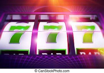 Lucky Slot Spin Illustration