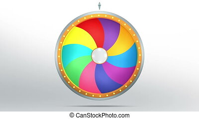 lucky spin 10 area candy color - The wheel of fortune or...
