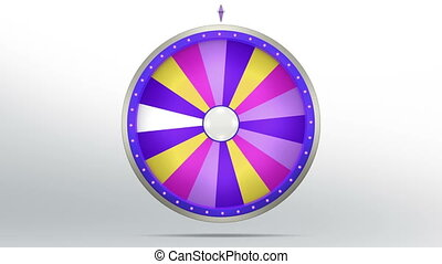 lucky spin 18 area purple - The wheel of fortune or Lucky...