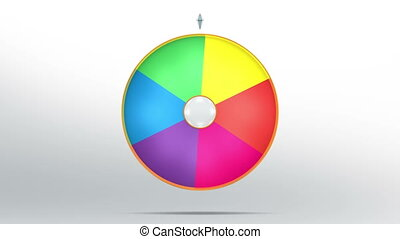 lucky wheel fortune six color - Lucky spin represent the...