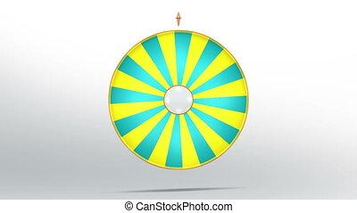 lucky wheel fortune twenty four 4K - Lucky spin represent...