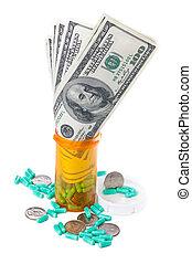 lucrativo, farmacêutica