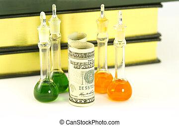 lucrativo, laboratório, pesquisa