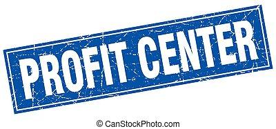 lucro, selo, quadrado, centro