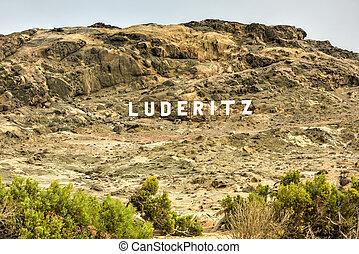 luderitz, muestra de la ciudad