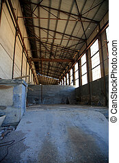 luderitz, viejo, fábrica