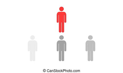 ludzie, hierarchia, hd