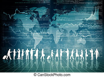 ludzie, internet handlowy