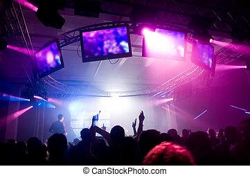 ludzie, koncert