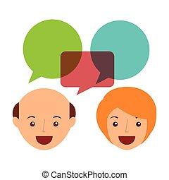 ludzie mówiące
