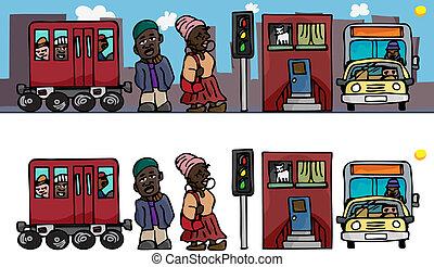ludzie miasta
