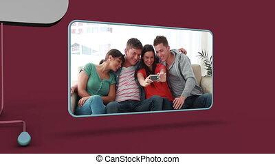 ludzie, video, młody
