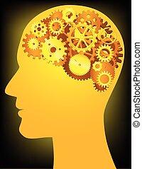 ludzka głowa