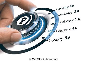 luego, industrial, industria, 4.0, revolución