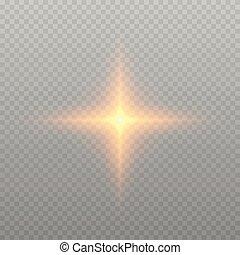 lueur, effet lumière