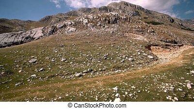 luftaufnahmen, durmitor, nationalpark, montenegro